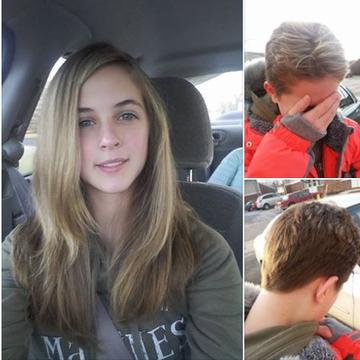 Ce s-a întâmplat cu o tânără care şi-a vopsit părul în şuviţe! Zeci de internauţi au fost şocaţi