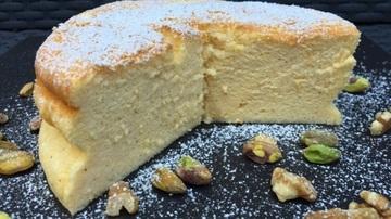 Cheesecake japonez - cea mai pufoasa prajitura pe care ai mancat-o. Se prepara rapid