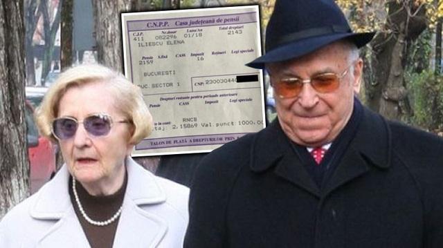 Ce s-a aflat dupa ce sotia lui Ion Iliescu si-a facut public talonul de pensie! Cati ani are de fapt nevasta fostului presedinte