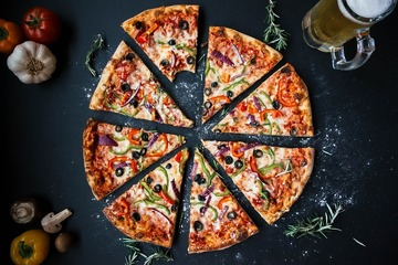 Pizza de post pentru pofticiosi: o reteta delicioasa