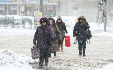 Informare meteo de vreme rea: Ninsori si vant puternic