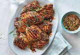 Pulpe de pui cu ghimbir si susan, un deliciu asiatic, usor de preparat