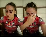 O adevarata luptatoare. Diana Belbita, cu ochiul vanat si sange pe chip. Imaginile care i-au ingrijorat pe multi