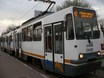 Accident in Capitala! O tanara a fost lovita de tramvaiul 41