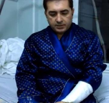 Primele imagini cu avocatul Daniel Ionascu din spital, dupa ce a fost implicat intr-un grav accident rutier
