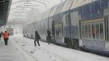 CFR Călători: 18 trenuri anulate vineri din cauza vremii!