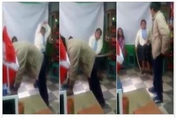 Si-a prins ginerele in timp ce ii batea fiica. Cum s-a razbunat barbatul a devenit viral pe internet