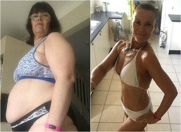 O bunicuta de 50 de ani s-a transformat complet in 12 saptamani, fara sa faca deloc sport! Cum a reusit sa arate asa