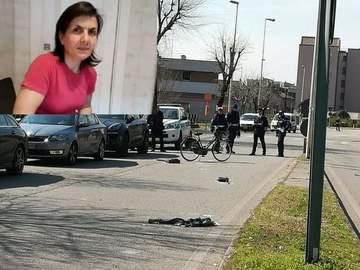 """O romanca stabilita in Italia a fost lovita mortal de un camion! Femeia era pe bicicleta. """"Nu e vina mea, a cazut în faţa masinii"""""""