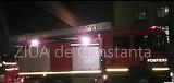Un incendiu izbucnit in Portul Constanta, arde mocnit intr-o hala