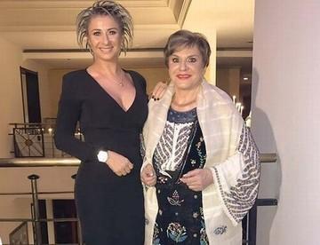 Prima aparitie a Anamariei Prodan dupa ce si-a inmormantat mama