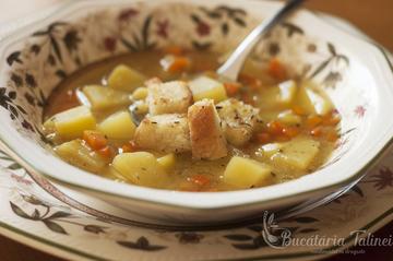 Retete de supa: Supa de mazare de post