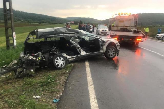 Socant! Cum s-a petrecut de fapt accidentul de la Jibou? Oamenii spun ca semaforul de la trecerea la nivel cu calea ferata nu functioneaza regulamentar