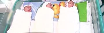 Miracol! La Timisoara s-au nascut trei fetite identice. Cazul este atat de rar incat medicii au fost uimiti