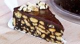 Cel mai usor si delicios tort de biscuiti! Reteta pentru incepatoare!