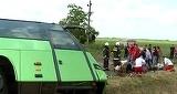 Accident cumplit in Ungaria, in urma cu putin timp! 7 romani au murit. Microbuzul romanesc s-a ciocnit cu un camion