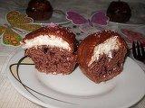 Cupcakes sub cupola de cocos