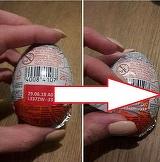 O mama a cumparat un ou de ciocolata pentru copilul ei. Cand s-a uitat mai bine...surpriza! Ce descoperire urata a facut