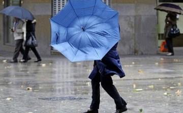 Anunt ANM: Cod galben de ploi, vant puternic si grindina, in 13 judete