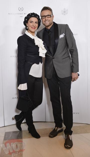 Angela Gheorghiu, aparitie ravasitoare la prezentarea de moda a designerului Alexandru Ciucu!
