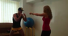Carmen Bruma a devenit noul antrenor de box al lui Mircea Badea! Uite cum arata un antrenament!