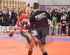 Mircea Badea a insistat sa se bata cu motociclistul! Tanarul a vrut sa anuleze lupta, dar prezentatorul era sigur ca poate sa il invinga!