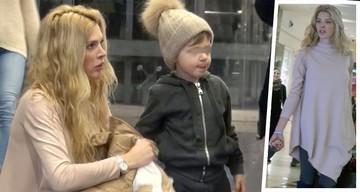 VIDEO Alina Vidican este o graviduta frumoasa! Insarcinata in 3 luni, si-a dus fiul la mall si au oferit imagini dragastoase trecatorilor - Uite ce burtica are