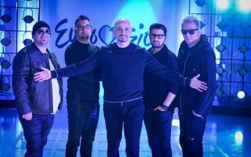 FOTO! Pana sa devina formatia pop de azi, Voltaj a fost o trupa rock veritabila, cu Cristi Minculescu solist!