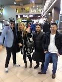 FOTO! Nicoleta Guta si-a serbat ziua in avion