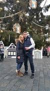 FOTO! Alex Bourceanu si-a dus sotia intr-o vacanta de vis la Praga! Adina este una dintre cele mai frumoase neveste de fotbalist!