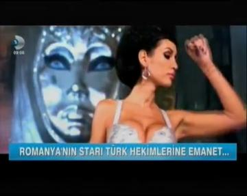 VIDEO Nicoleta Luciu a ajuns vedeta de televiziune in Turcia! Postul turcesc Kanal D a realizat un amplu reportaj despre ea