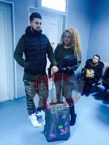 ULTIMA ORA! Sanziana Buruiana a ajuns la spital! Blonda naste azi! Avem imagini exclusive cu ea si sotul ei! Cat sunt de emotionati!