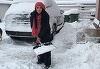 VIDEO & FOTO EXCLUSIV | Andreea Mantea a dat mersul la sala pe lopata si zapada! Niciodata n-ai vazut-o intr-o asemenea ipostaza pe prezentatoarea WOWbiz de la Kanal D! A facut ieri sport cat pentru un an intreg!