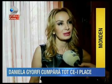 VIDEO Uite cum arata dressingul Danielei Gyorfi! Cantareata are tinute si accesorii de mii de euro!