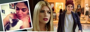 "FOTO   Actrita care o interpreteaza pe Efsun, fata cea rea din ""Bahar: Viata furata"", e topita dupa animale! Vezi cum e in viata reala blonda din serialul difuzat de Kanal D"