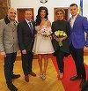 Ce nu s-a vazut la televizor de la nunta Andreei Tonciu! Ce a patit mireasa din pricina sarcinii