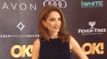APARITIE WOW! Cristina Spatar a socat in aceasta seara, la Oscar Party! Cantareata avea tot spatele gol si a aratat demential, ca in vremurile ei bune
