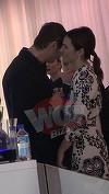 VIDEO EXCLUSIV! Maria Marinescu, scene tandre cu sotul! S-au imbratisat, s-au masat si s-au tachinat la un eveniment monden!
