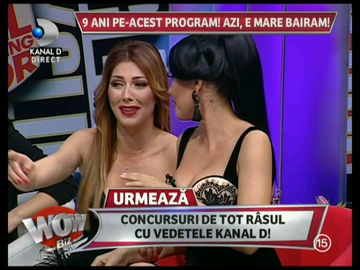 VIDEO Madalin Ionescu si-a facut colegele sa rada cu lacrimi! Uite ce avea intre picioare!