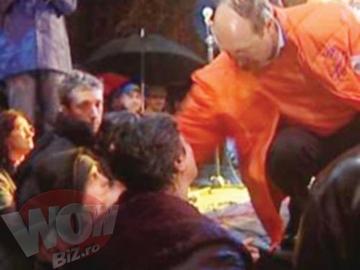 """Baiatul """"batut"""" de Basescu s-a decis cu cine voteaza: """"Il vreau pe Gigi Becali presedinte!"""""""