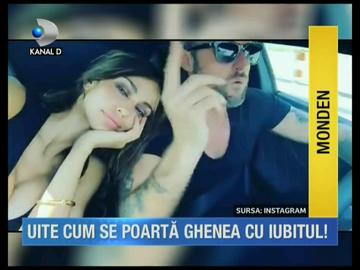 VIDEO Madalina Ghenea, imagini din intimitatea ei cu iubitul! De dragul lui Philipp Plein, romanca si-a tatuat un deget