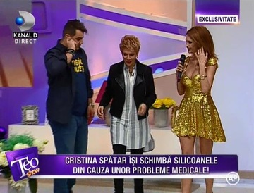 VIDEO Cristina Spatar, aparitie incendiara! Uite-o intr-o rochie scurta si foarte decoltata! Zici ca e mai tanara cu 10 ani