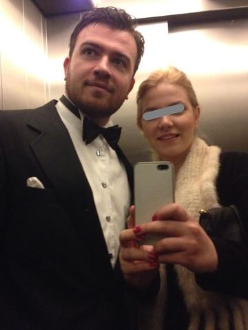 FOTO! Nici nu se vede ca l-a facut bunic pe Mugur Isarescu! Uite ce bine arata Olga, iubita lui Costin!