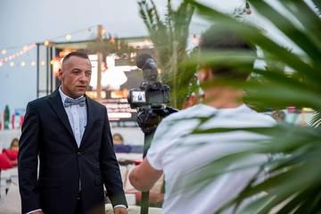 FOTO! Christian Spridon (ex-Tarky) revine in forta! A filmat un clip pe plaja, la Mamaia, dupa o absenta de mai multi ani