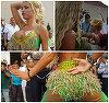 """Ce face, de fapt, Loredana Chivu cand este invitata sa danseze la nunti? Imagini de senzatie cu focoasa blonda! Isi unduieste trupul senzual, iar banii curg """"fara numar"""""""