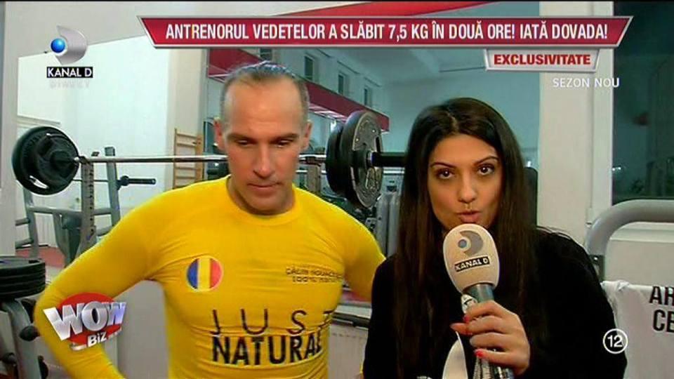 Calin Novocescu a spulberat un nou record! S-a ingrasat PATRU kilograme in patru ore si a topit 7,5 de kilograme in doar doua ore! Cum a fost posibil