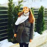 A crescut atat de mare burtica, incat abia se mai poate inchide la palton! Cum arata graviduta Cristina Siscanu in a saptea luna de sarcina?