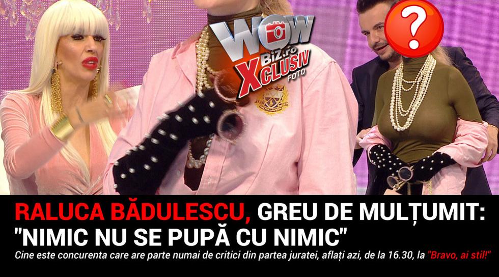 Raluca Badulescu, greu de...