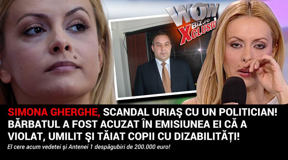 Simona Gherghe, scandal urias...