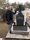 """Daniel Buzdugan, momente grele la mormantul tatalui sau! """"Una dintre cele mai triste zile din viata mea"""""""